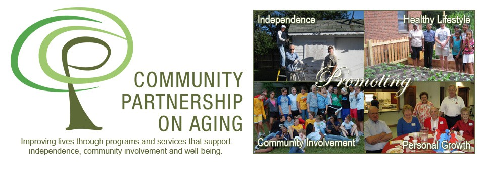Welcome to the Community Partnership on Aging