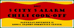 2017 5-City 5-Alarm Chili Cook-Off!