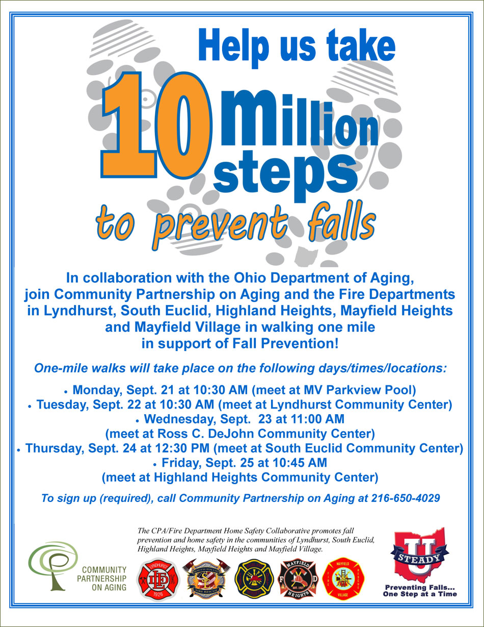 Help CPA Take 10 Million Steps for Fall Prevention!