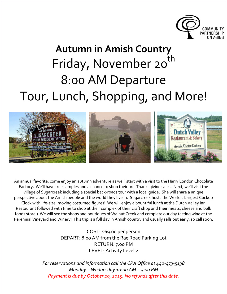 Autumn In Amish Country - November 20th 2015