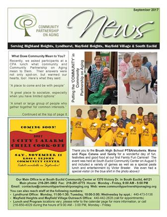 September 2017 CPA Newsletter