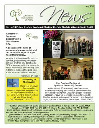 Click the image of our newsletter to view it on your computer browser; or, scroll to the bottom of our home page to find out how you can get a paper copy!